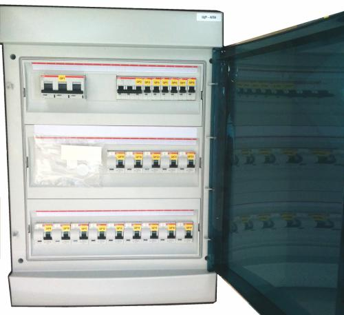 switchgear on the metalware basis Mistral65 ABB